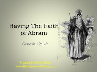 Having The Faith of Abram