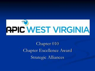 Chapter 010 Chapter Excellence Award  Strategic Alliances