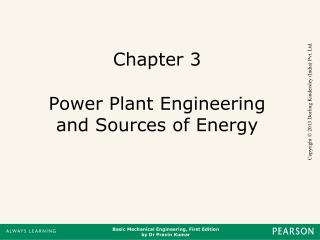 Chapter 3 Power Plant Engineering and Sources of Energy