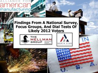 Findings  From A National  Survey, Focus Groups, And Dial Tests Of  Likely 2012 Voters