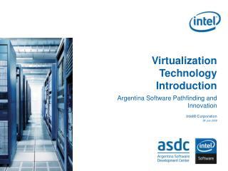 Virtualization Technology Introduction