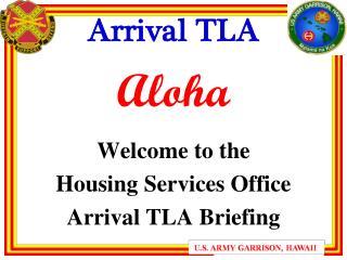 Arrival TLA