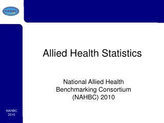 Allied Health Statistics