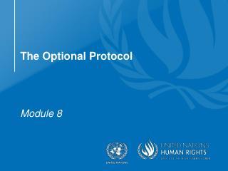 The Optional Protocol