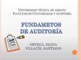 Universidad  técnica  de  ambato Facultad  de  Contabilidad  y  Auditoría