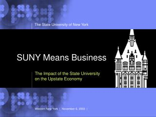SUNY Means Business