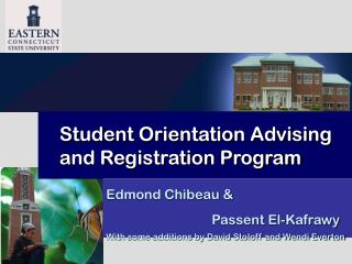 Student Orientation Advising and Registration Program
