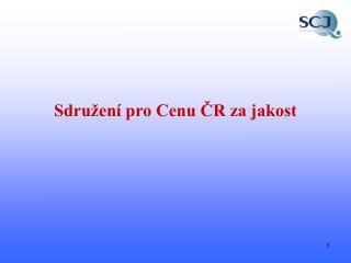 Sdružení pro Cenu ČR za jakost