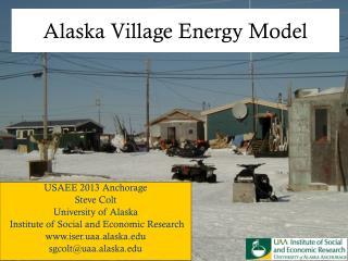 Alaska Village Energy Model