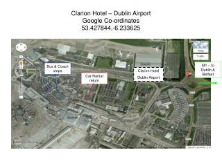 Clarion Hotel – Dublin Airport Google Co-ordinates 53.427844,-6.233625