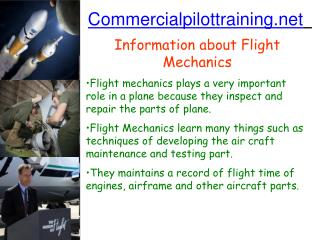 Commercialpilottraining