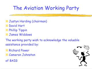 The Aviation Working Party