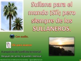 SULLANA Y SU TERRITORIALIDAD