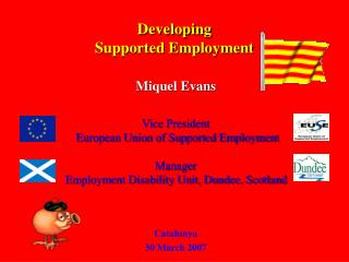 Developing  Supported Employment