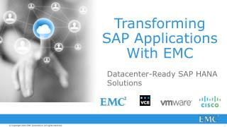 Transforming SAP Applications With EMC
