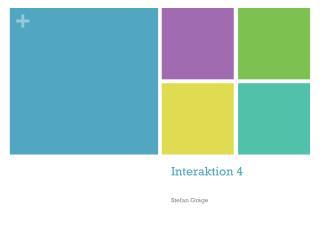 Interaktion  4