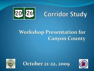 Corridor Study