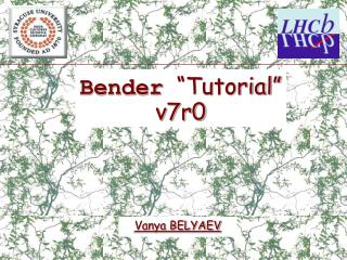 "Bender ""Tutorial"" v7r0"