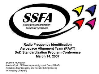 Radio Frequency Identification Aerospace Alignment Team (RAAT)