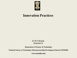 Innovation Practices