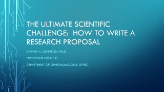 Grant Opportunities for New Researchers
