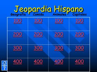 Jeopardia Hispano