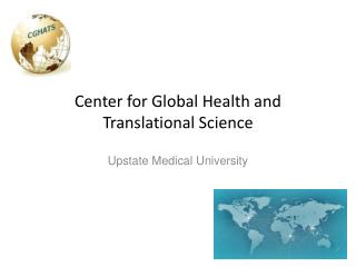 Center for Global Health and Translational Science