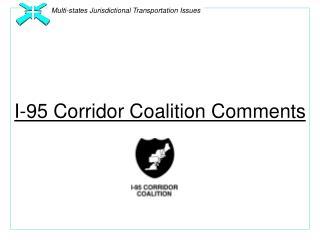 I-95 Corridor Coalition Comments