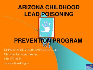 ARIZONA CHILDHOOD LEAD POISONING