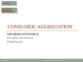 Consumer:  Aggregation