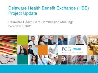 Delaware Health Benefit Exchange (HBE) Project Update