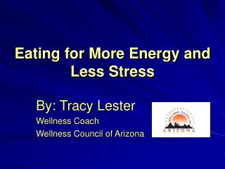 Eating for More Energy and Less Stress