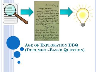 Age of Exploration DBQ (Document-Based Question)
