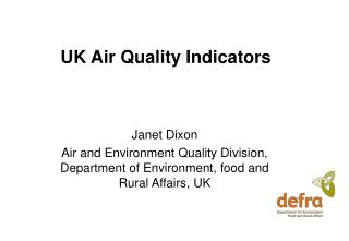 UK Air Quality Indicators