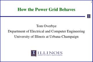 How the Power Grid Behaves