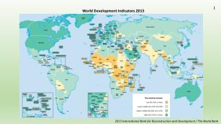 World Development Indicators  2013