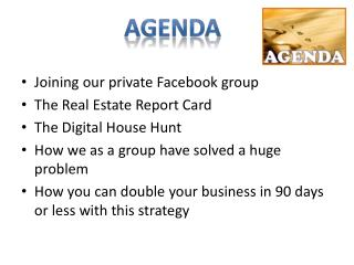 Joining our private Facebook group The Real Estate Report Card The Digital House Hunt