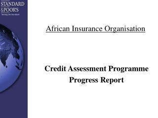 African Insurance Organisation