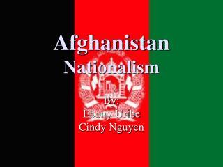 Afghanistan Nationalism
