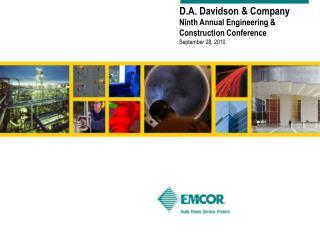 D.A. Davidson & Company