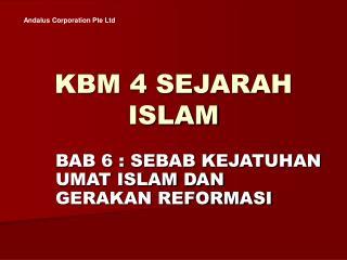 KBM 4 SEJARAH ISLAM