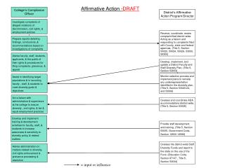 District's Affirmative Action Program Director