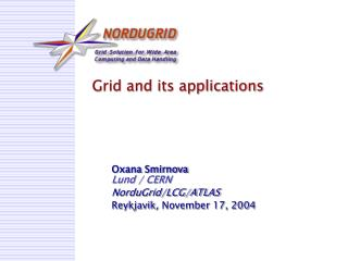 Grid and its applications