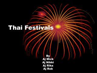 Thai Festivals