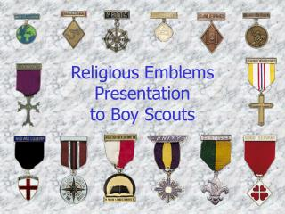 Religious Emblems Presentation to Boy Scouts