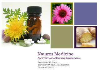 Natures Medicine An Overview of Popular Supplements