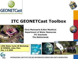 ITC GEONETCast Toolbox