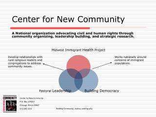 Center for New Community