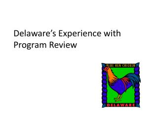 Delaware�s Experience with Program Review