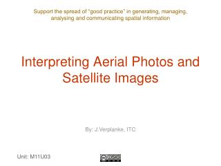 Interpreting Aerial Photos and Satellite Images